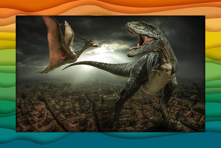 """Пазлы """"Динозавры"""""""