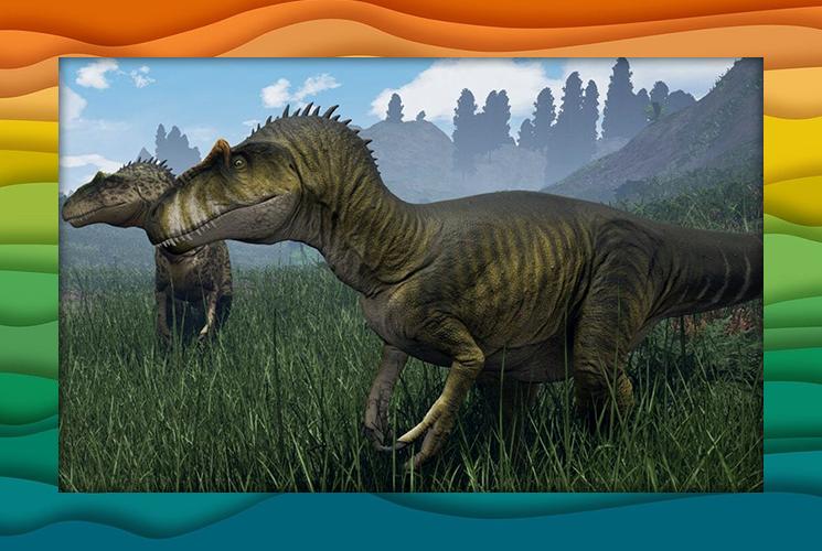"""Пазл """"Аллозавр"""""""