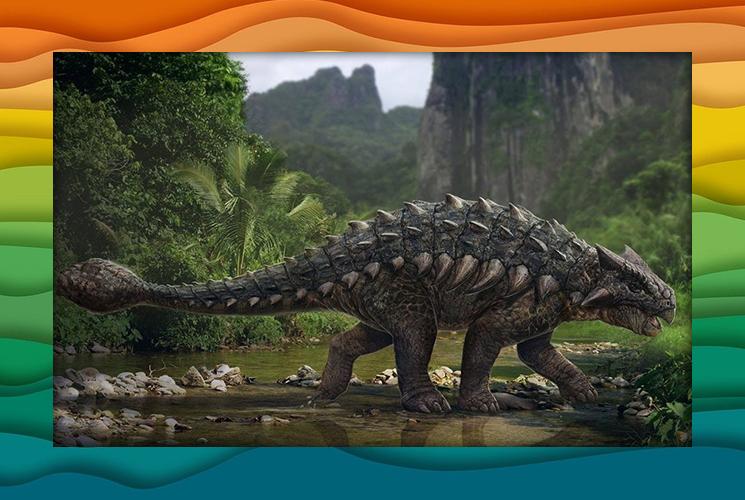 """Пазл """"Анкилозавр"""""""