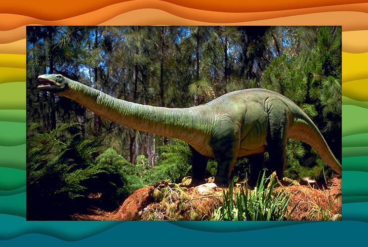 """Пазл """"Апатозавр"""""""