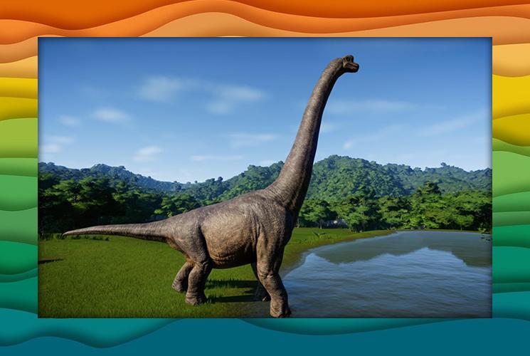 """Пазл """"Брахиозавр"""""""