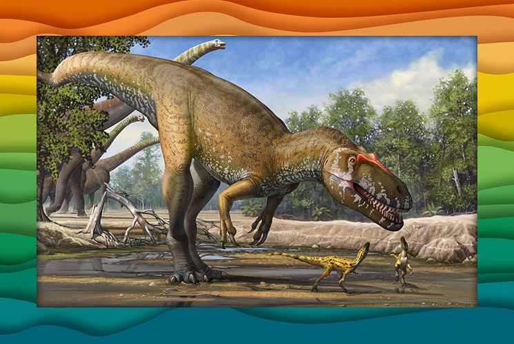 "Пазл ""Торвозавр"""